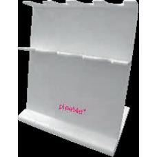 Stojan pro 4 digitální mikropipety – bílý, AHN