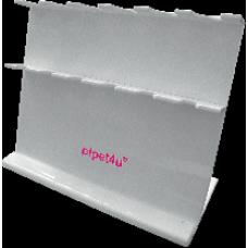 Stojan pro 6 digitálních mikropipet – bílý, AHN