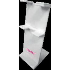 Stojan pro osmikanálovou pipetu – bílý, AHN