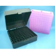 Krabička pro uskladnění vzorků včetně mřížky, PP, barva černá, balení 5 ks, AHN