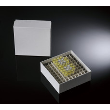 100-well, 2-in Plasti-Coat™ Cardboard Freezer Boxes