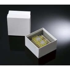 100-well, 3-in Plasti-Coat™ Cardboard Freezer Boxes