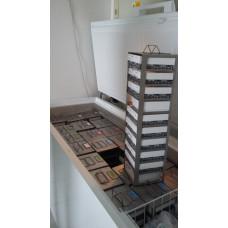 Vertical Type Freezer Racks for 10 boxes, 1 pcs