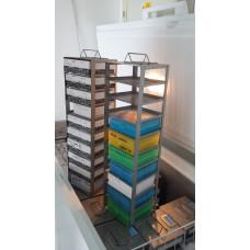 Vertical Type Freezer Racks for freezer, 21 pcs