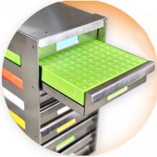 Sliding Drawer Freezer Racks with slide drawers, Corrosion-resistant