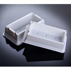 Sterile Solution Basins, 100 ml. Sterilne, PS, 50 Pieces.