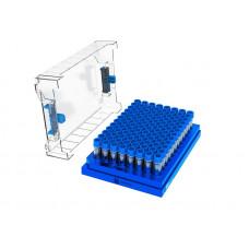 SBS Format Combo (96-well format cryogenic vials), 1920 vials + 20 racks