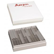 Krabička pro PCR zkumavky/PCR strips, kartón, pro 196 zkumavek