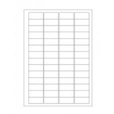 Štítky pro laserovou tiskárnu - 45 mm x 20 mm, bílé, 896 ks