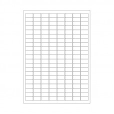 Štítky pro laserovou tiskárnu - 23 mm x 13 mm, 2688 ks
