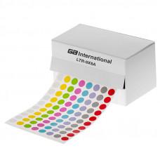Štítky ⌀ 9 mm, v roli, pro 0,5/1,5 ml zkumavky, mix barev, 5200 ks