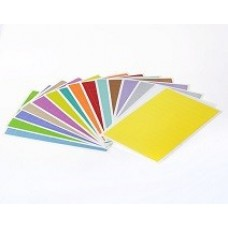 Štítky pro laserovou tiskárnu 26 mm x 10 mm, pro 1,5 ml zkumavky, různé barvy, 1 260 ks