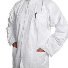 DuPont™ Tyvek® labcoat, 3 pockets, 10 pcs., size L