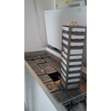 Vertical Type Freezer Racks for 10 boxes, 1 pcs