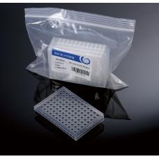 96-well PCR plates, Half-Skirted, 25 ks
