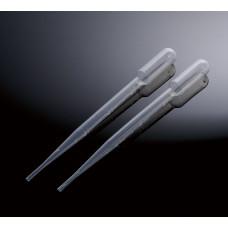 Pasteur pipettes 3 ml, Non-Sterile, 500 pcs.