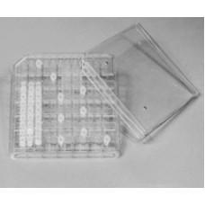 Freezer storage box for 144 PCR tubes 0.2 ml, PC, 5 pcs.