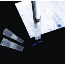 Aspiration tip for strip of electrophoresis gel 4 x 1 mm, 250 pcs.