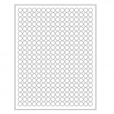 "Cryo laser labels - 0.433"" / 11mm (circle), 5280 pcs."